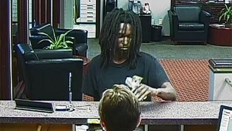 Nashville Bank Robbery Suspect