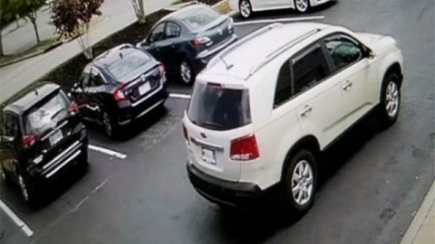 Nashville Bank Robbery Suspect's Vehicle.