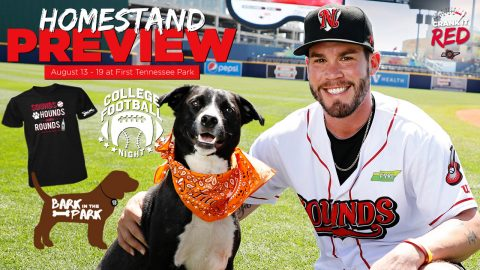 Bark in the Park #2, College Football Night and Friday Fireworks Highlight Nashville Sounds Homestand. (Nashville Sounds)