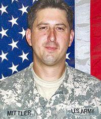 Staff Sergeant Shaun Mittler