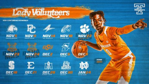 Tennessee Women's Basketball 2018-2019 Non-Conference Schedule. (UT Athletics)