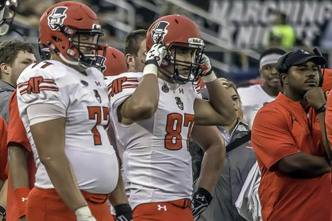 Austin Peay Football has two players earn undergraduate degrees. (APSU Sports Information)
