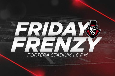 Austin Peay Friday Football Frenzy pep rally to be held Friday at 6:00pm at Fortera Stadium. (APSU Sports Information)