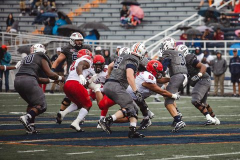 Austin Peay Football drops OVC Opener at UT Martin Satuday night. (APSU Sports Information)