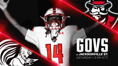 Austin Peay Governors Football is at Jacksonville State Saturday for a 3:00pm kickoff. (APSU Sports Information)