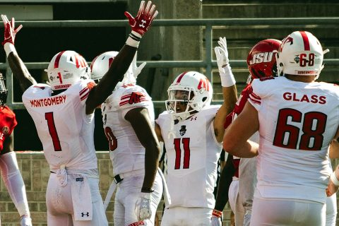 Austin Peay Football fights Jacksonville State til the end, in 48-32 road loss, Saturday. (APSU Sports Information)