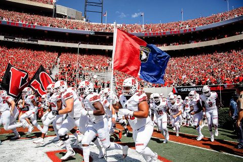 Austin Peay Governors Football learn alot from Georgia Bulldogs game. (APSU Sports Information)
