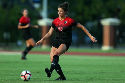 Austin Peay Women's Soccer hold off Mercer for 1-0 win Friday night. (APSU Sports Information)