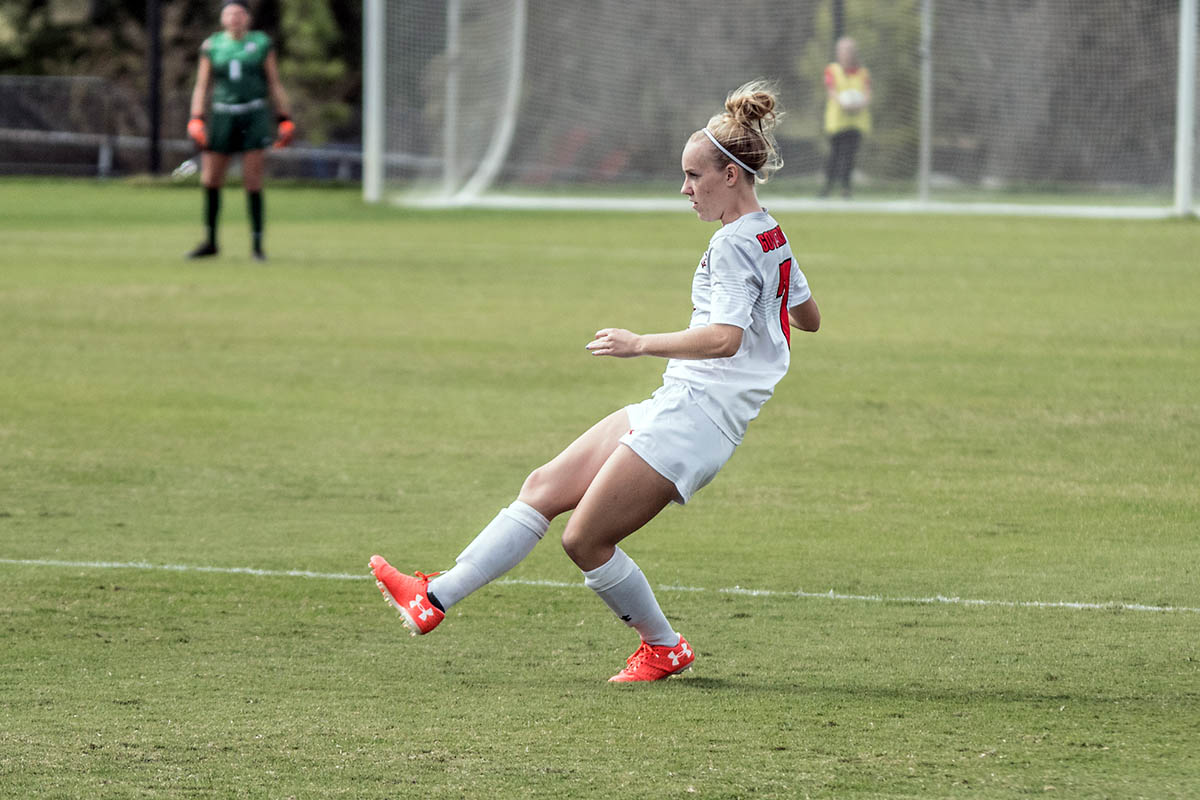 Austin Peay Women's Soccer gets 1-1 draw against Belmont Friday night at Morgan Brothers Soccer Field. (APSU Sports Information)