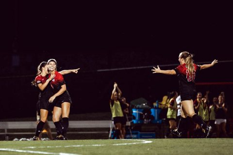 Austin Peay Women's Soccer falls in hard fought overtime match to SIU Edwardsville Friday night. (APSU Sports Information)