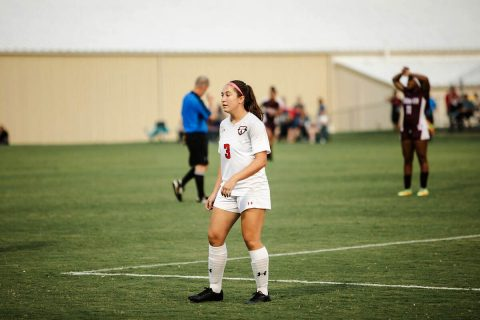 Austin Peay Women's Soccer loses close game to Eastern Illinois Sunday afternoon. (APSU Sports Information)