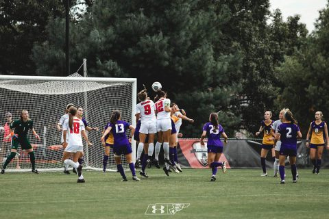 Austin Peay Women's Soccer gets convincing 4-1 win over Jacksonville State Friday night at Morgan Brothers Soccer Field. (APSU Sports Information)