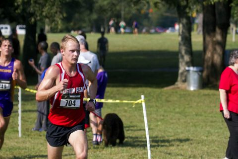 Austin Peay Men's Cross Country post season best times at Greater Louisville Classic Saturday. (APSU Sports Information)