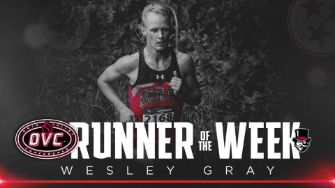 Austin Peay's Wesley Gray named Ohio Valley Conference Co-Male Cross Country Runner of the Week. (APSU Sports Information)
