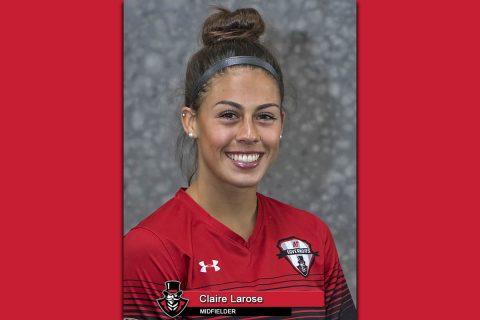 2018 APSU Soccer - Claire Larose