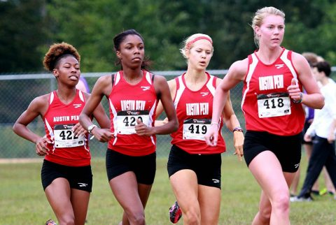 Austin Peay Women's Cross Country team shows improvement at Alabama-Huntsville Chargers Open. (APSU Sports Information)