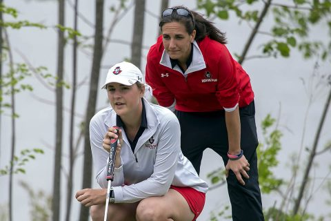 Austin Peay Women's Golf comes in second behind Cincinnati at Morehead State's Greenbrier Invitational, Tuesday. (APSU Sports Informational)
