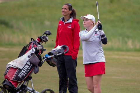 Austin Peay Women's Golf sit in third at Chris Banister Classic after first round. (APSU Sports Information)