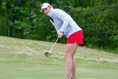 Austin Peay Women's Golf has two players in the Top 10 at Chris Banister Classic. (APSU Sports Information)