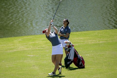 Austin Peay Women's Golf finishes Monday with strong round heading into Tuesday's final. (APSU Sports Information)