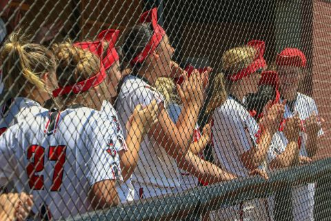 Austin Peay Softball teams looks forward to the coming season. (APSU Sports Information)
