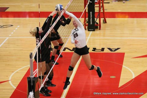 Austin Peay Women's Volleyball plays Ole Miss, McNeese and Rice at Rice adidas Invitational this weekend.