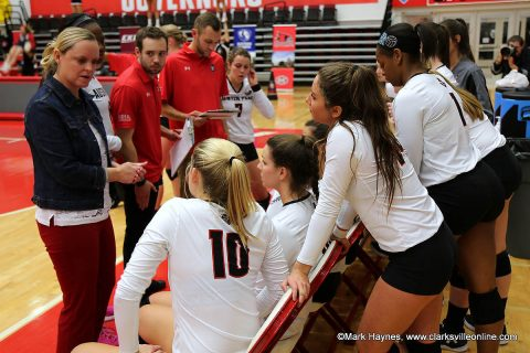 Austin Peay Volleyball begins OVC Season at Southeast Missouri and UT Martin. (APSU Sports Information)