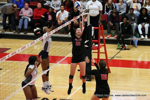 Austin Peay Women's Volleyball returns to the Dunn Center for four game homestand. (APSU Sports Information)