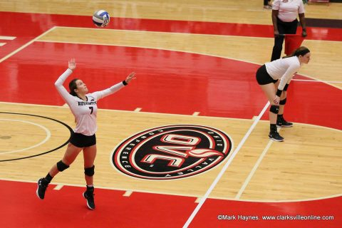 Austin Peay Women's Volleyball kicks off four game homestand Tuesday night against Murray State. (APSU Sports Information)
