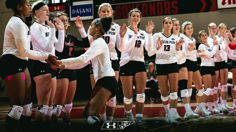 Austin Peay Women's Volleyball travel to Evansville this weekend to take part in the Dunn Hospitality Invitational. (APSU Sports Information)