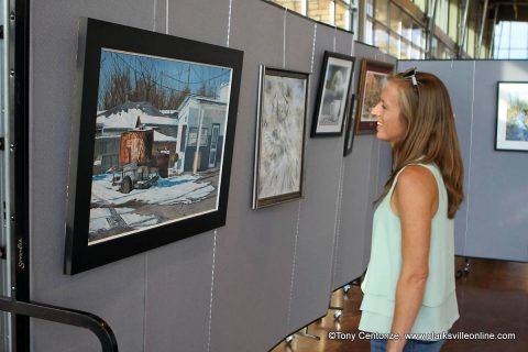 More than 100 entires made the cut for this year's Riverfest Juried Art Show. The official kickoff of Riverfest 2018 took place Thursday at the Wilma Rudolph Event Center.