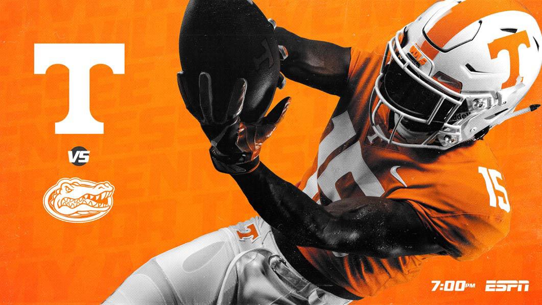 Tennessee Football hosts Florida, Saturday. Kick off is at 6:00pm CT. (UT Athletics)