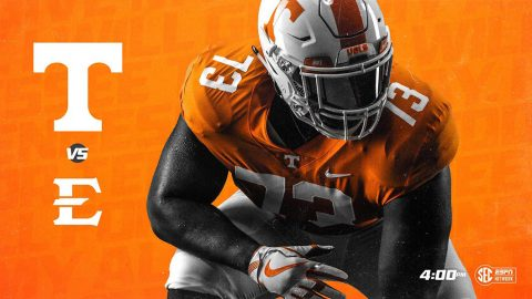 Tennessee Football play East Tennessee State Saturday at Neyland Stadium. Kick off is at 3:00pm CT. (UT Athletics)