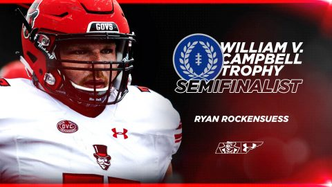 Austin Peay Football's Ryan Rockensuess named semifinalist for William V. Campbell Trophy. (APSU Sports Information)