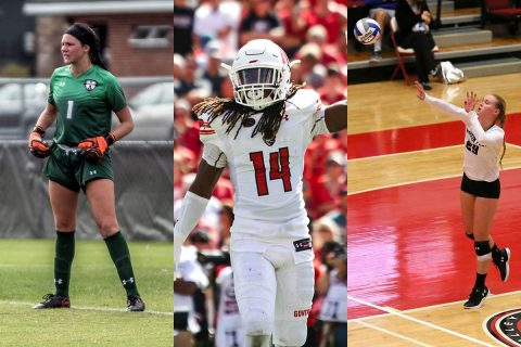 Austin Peay Soccer began OVC play ths past weekend. APSU Volleyball and Football teams start OVC games this week.
