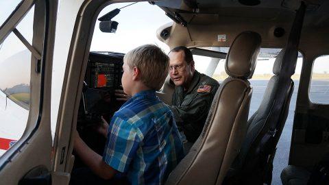 Civil Air Patrol Kentucky Wing Open House.