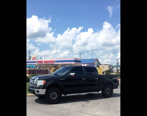 Ford F150 that was carjacked