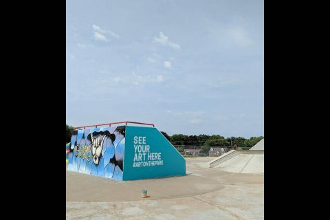 Heritage Park Skate Park Art Contest open to ages 12-18, 19-24, and 25 and up.