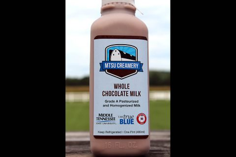 Middle Tennessee State University Milk
