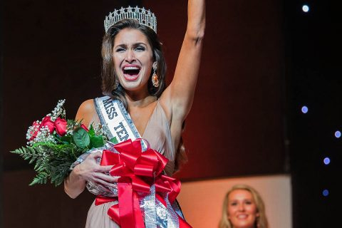 Alexandra Harper from Williamson County was crowned Miss Tennessee USA 2018 at Austin Peay State University in Clarksville, Tennessee in October 2017.