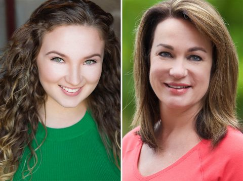 """""""Hairspray"""", starring Jenna Leigh Miller as Tracy Turnblad and featuring Stacy Turner as Velma Von Tussle, plays at the Roxy Regional Theatre, September 7th - September 29th"""