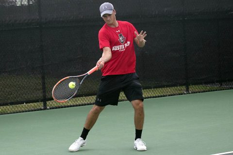 Austin Peay Men's Tennis in good position heading into final day at Louisville Invitational. (APSU Sports Information)