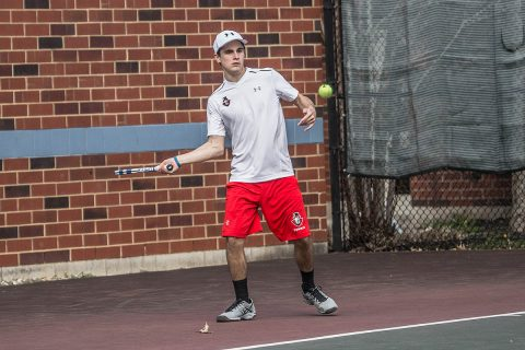 Austin Peay Men's Tennis plays solid at Louisville Invitational, Sunday. (APSU Sports Information)