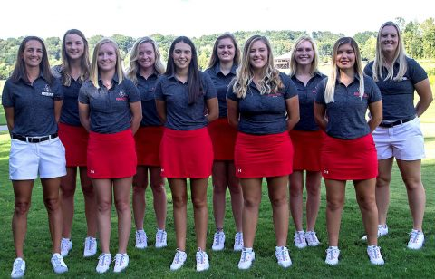 Austin Peay State University Women's Golf hosts 20th Annual F&M Bank APSU Intercollegiate Golf Tournament. (APSU Sports Information)