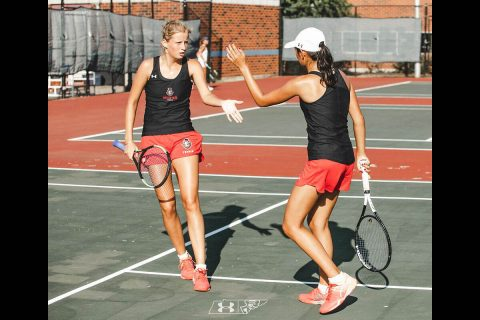 Austin Peay Women's Tennis played well on second day at ITA Ohio Valley Regionals, Friday. (APSU Sports Information)