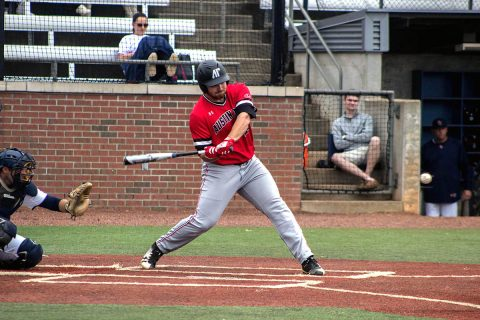 Austin Peay Baseball's Red Team gets 0-1 win over Black Team to open Red-Black World Series. (APSU Sports Information)
