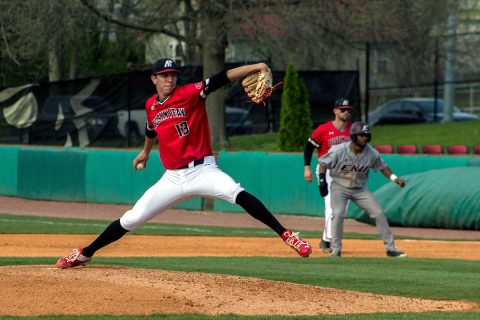 Austin Peay Baseball's Red Team defeated the Black Team Tuesday to take a 2-0 lead in Red-Black World Series. (APSU Sports Information)