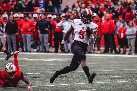 Austin Peay Football running back Kentel Williams rushed for 104 yards and 1 touchdown in loss to Southeast Missouri, Saturday. (APSU Sports Information)