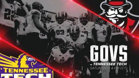 Austin Peay Governors Football plays host to Tennessee Tech Golden Eagles Saturday afternoon for APSU Homecoming. (APSU Sports Information)