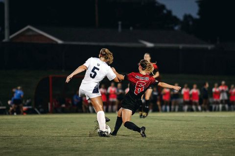 Austin Peay Women's Soccer faces to key matches this weekend when it hosts Eastern Kentucky Saturday and then travels to Morehead State, Sunday. (APSU Sports Information)